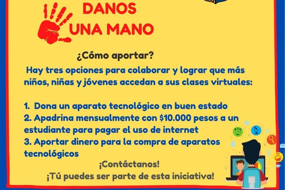 CAMPAÑA DANOS UNA MANO - CONECTIVIDAD